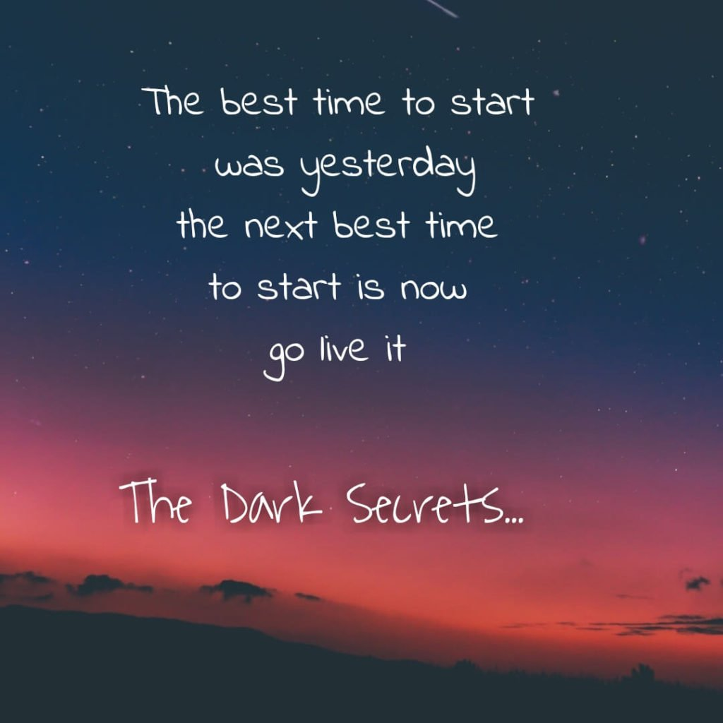 A success quote on best time to begin.
