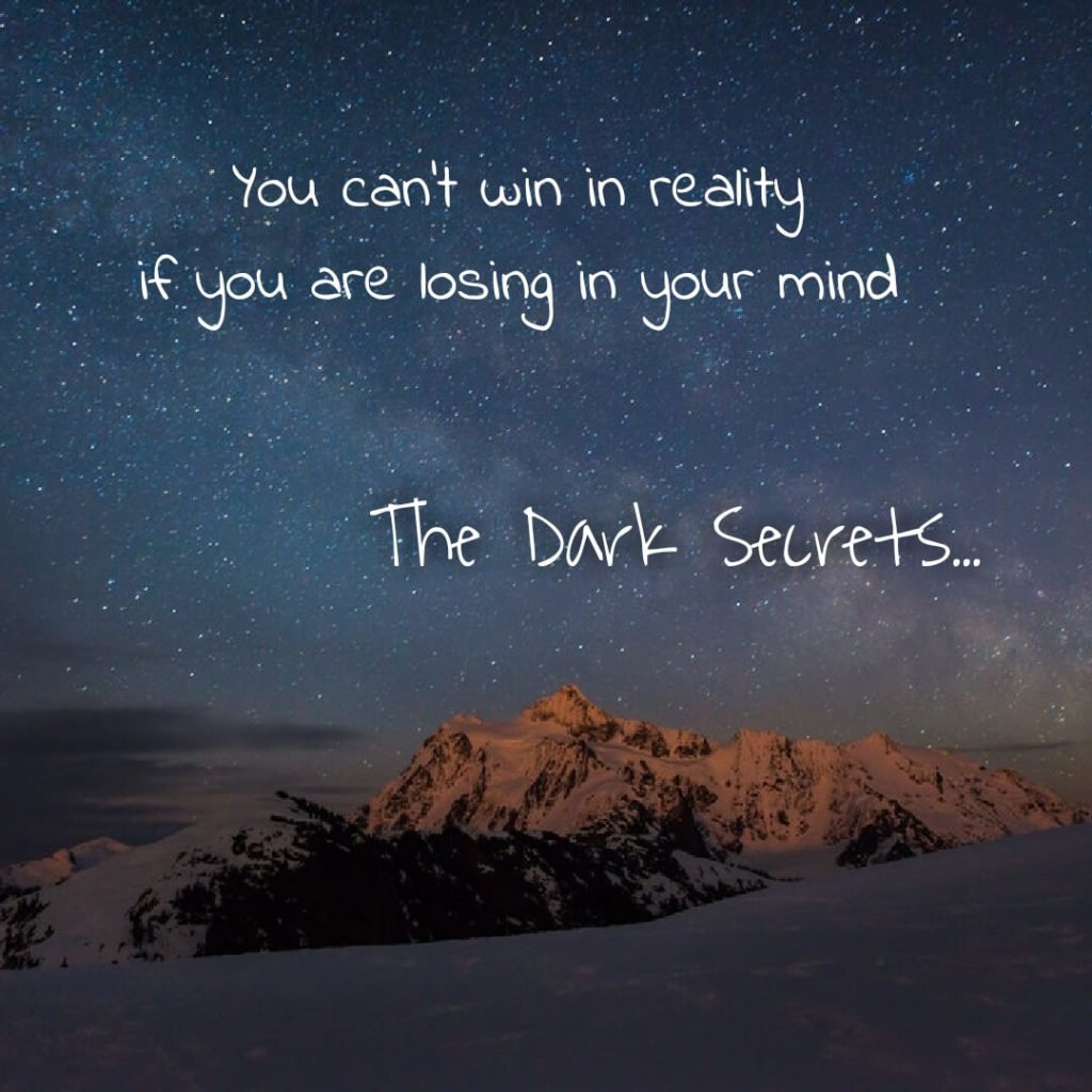 A super motivational quote on winning in reality.