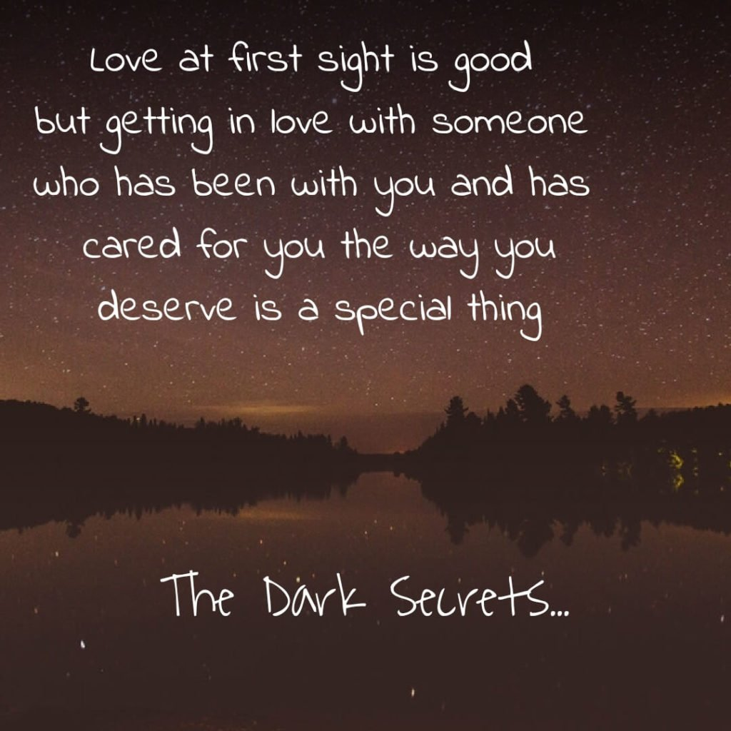 A true love quote on being loved by someone who is always there for you.