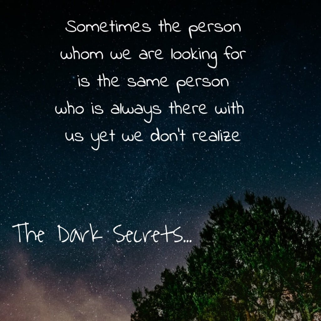 One of the best love sayings on being realized about the right person.