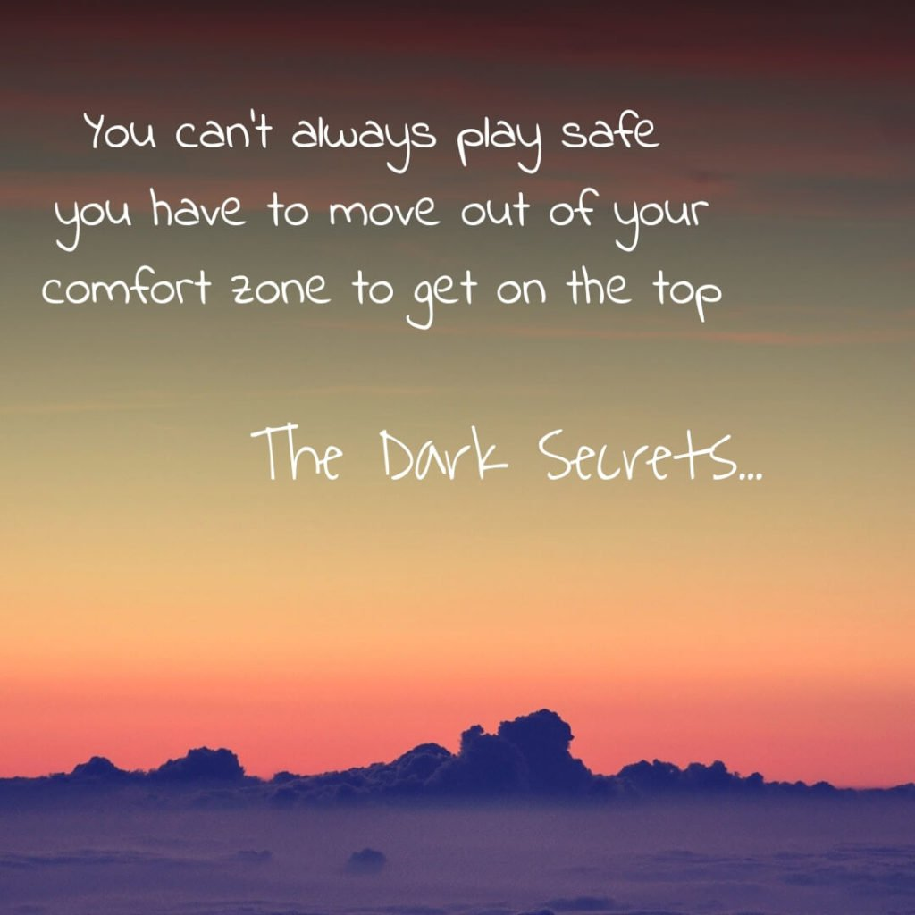 A super motivational quote on getting to the top.