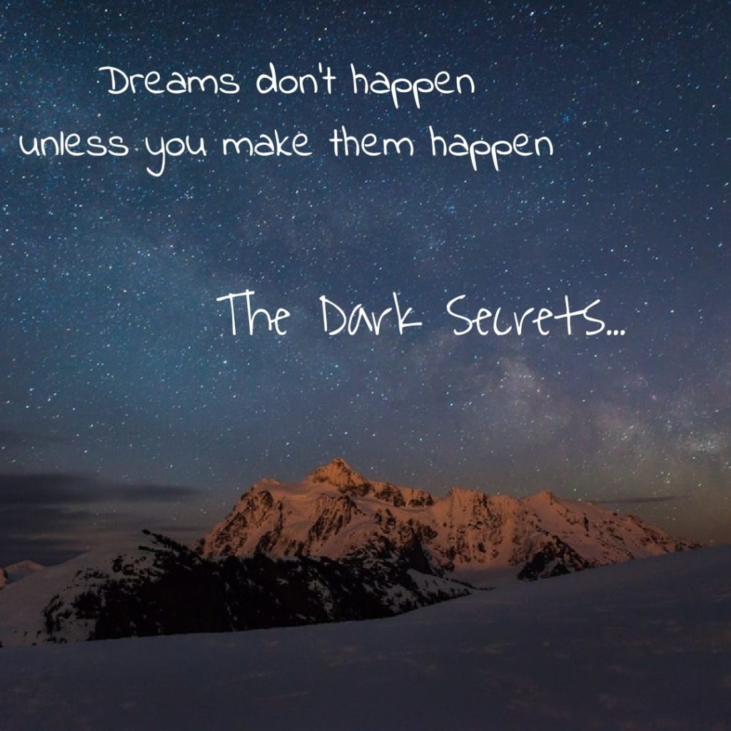 A self motivation quote on making dreams into reality.