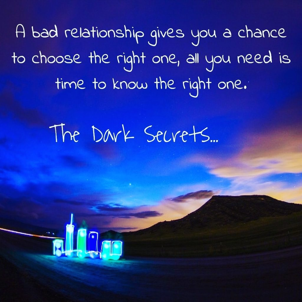 One of the best sad love quotes on getting a chance to choose the right relationship.