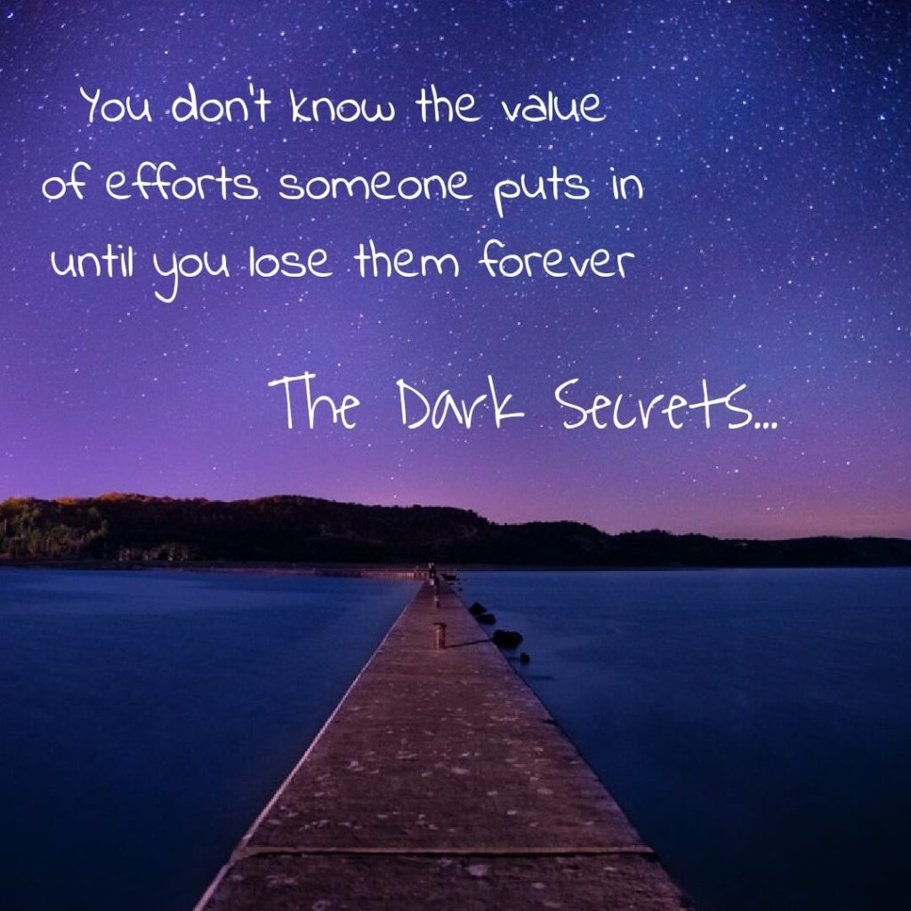 One of the true love quotes on making efforts for someone.