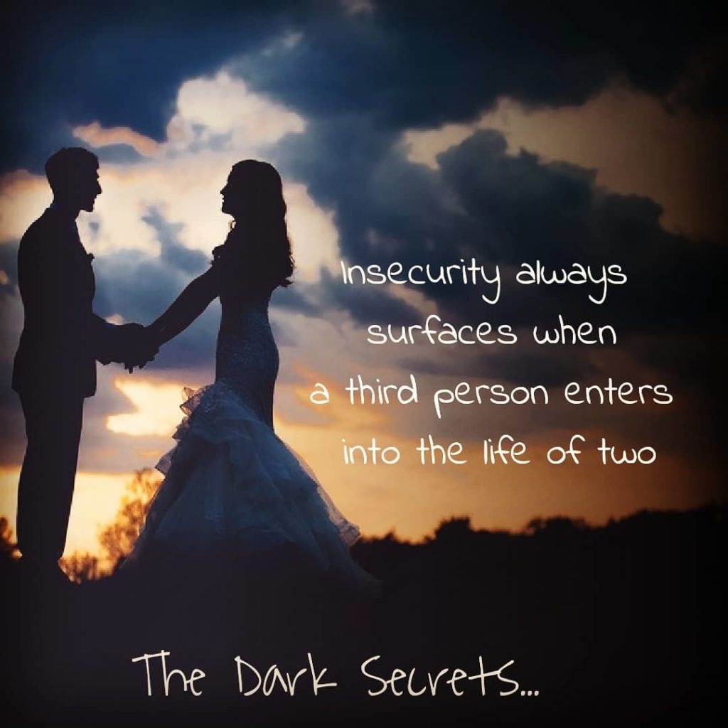 A deep love quote on insecurity.