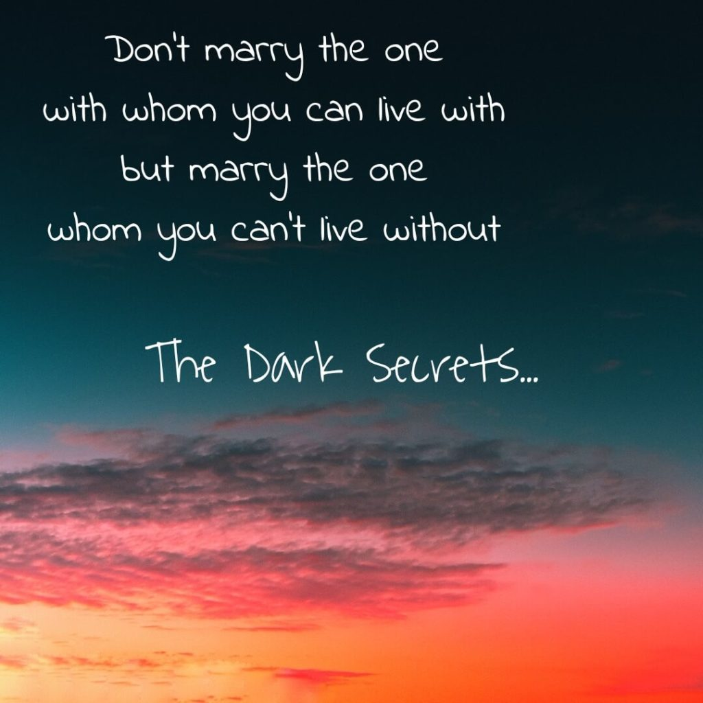 Love quotes images on marrying someone.